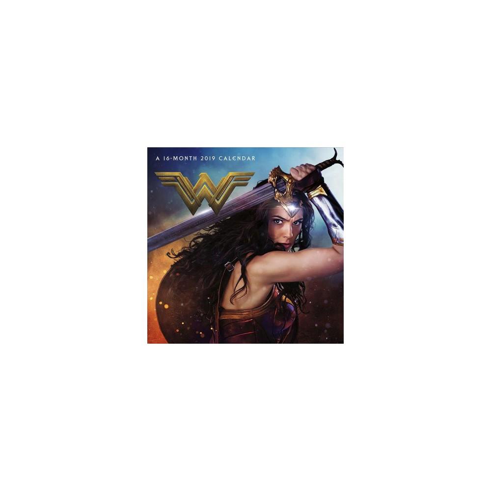 Wonder Woman 2019 Calendar - (Paperback)