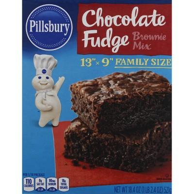 Pillsbury Baking Chocolate Fudge Brownie Mix - 18.4oz