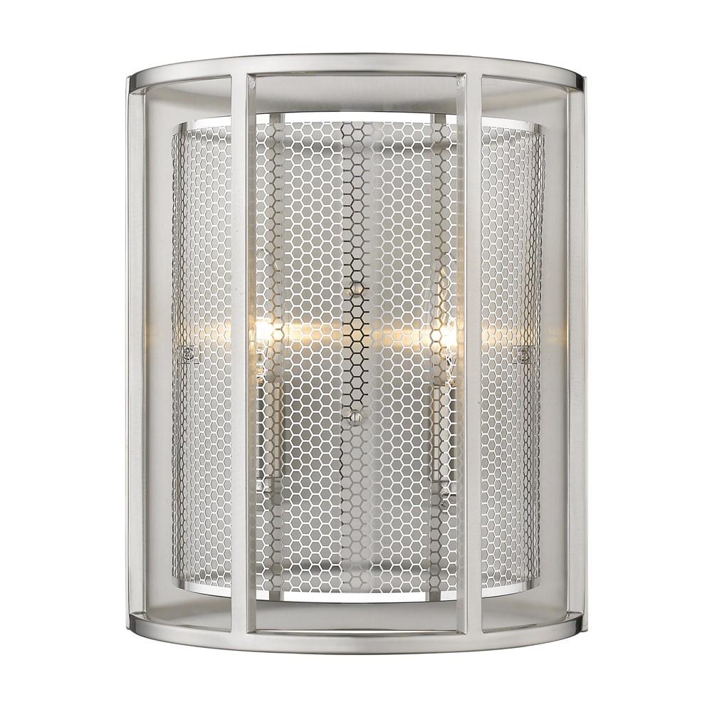 Image of Verona 2 Light Sconce Silver - EGLO