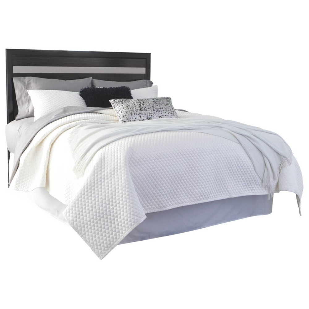 Queen/Full Starberry Panel Headboard Black - Signature Design by Ashley
