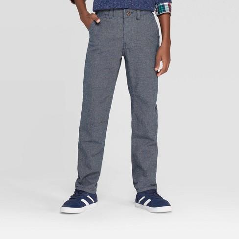 Boys' Dress Pants - Cat & Jack™ Blue - image 1 of 3