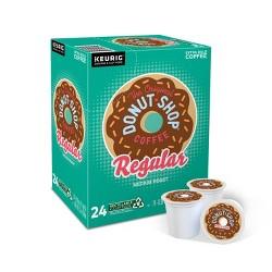 The Original Donut Shop Regular Medium Roast Coffee - Keurig K-Cup Pods - 24ct