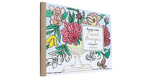 French Baroque Adult Coloring Book - image 1 of 1