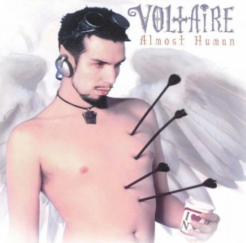 Voltaire - Almost Human (CD) - image 1 of 1