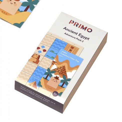 Primo Cubetto Ancient Egypt Adventure Pack - image 1 of 3