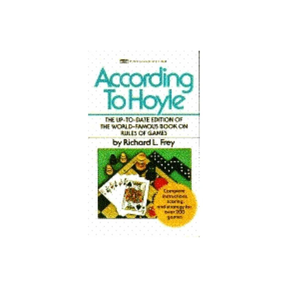 According To Hoyle By Richard L Frey Paperback