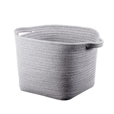 Bath Basket Medium Crate Gray - Threshold™