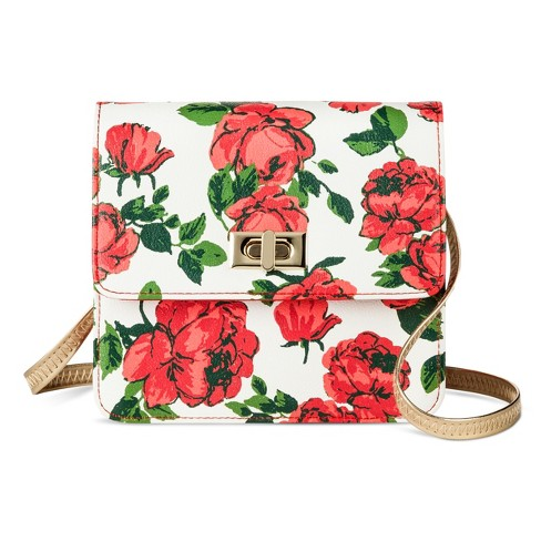 Girls' Disney Beauty and the Beast Rose Print Purse - image 1 of 1