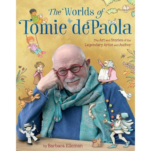 The Worlds of Tomie dePaola - by  Barbara Elleman (Hardcover) - image 1 of 1