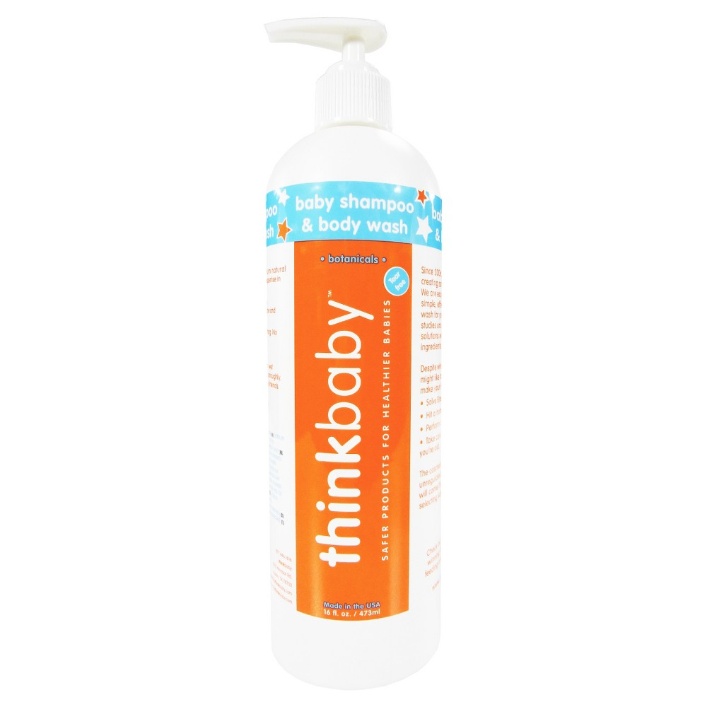 thinkbaby Baby Shampoo & Body Wash - 16oz