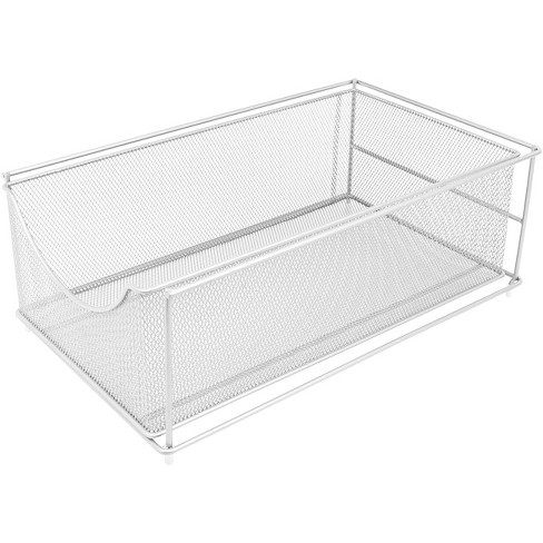 Sorbus Mesh Storage Organizer with Pull Out Drawers White - image 1 of 4