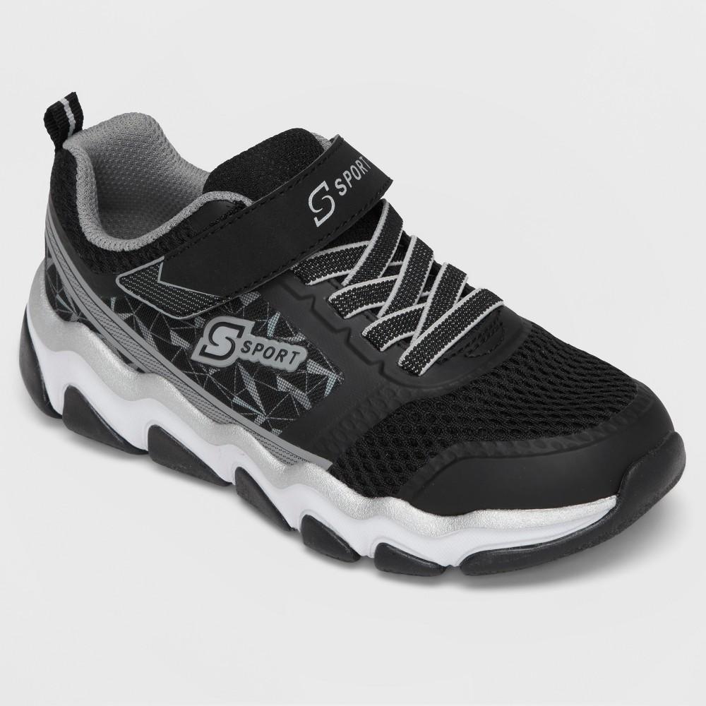 Boys' S Sport By Skechers Quinton Athletic Shoes - Black 6
