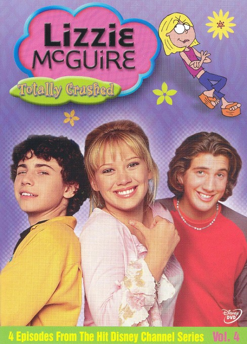 Lizzie mcguire:Totally crushed (DVD) - image 1 of 1