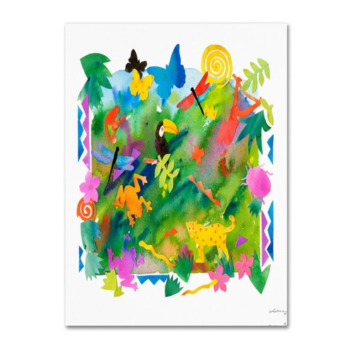 Katie Pertiet In the Forest IV Unframed Wall Canvas Art - image 1 of 2