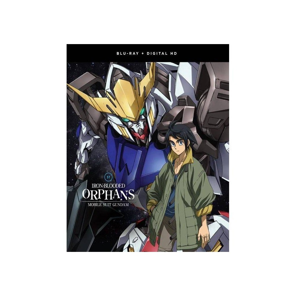 Mobile Suit Gundam Iron Blooded Orphans The Complete Season One Blu Ray 2018