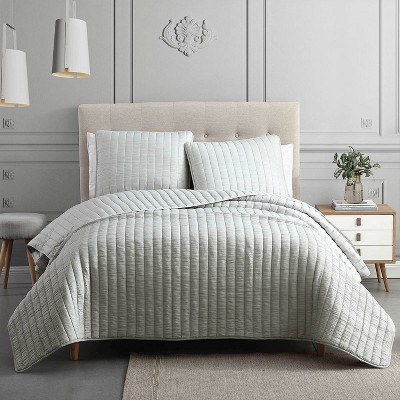 3pc Moonstone Quilt Set - Riverbrook Home