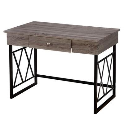 Seneca XX Desk Black/Gray - Buylateral