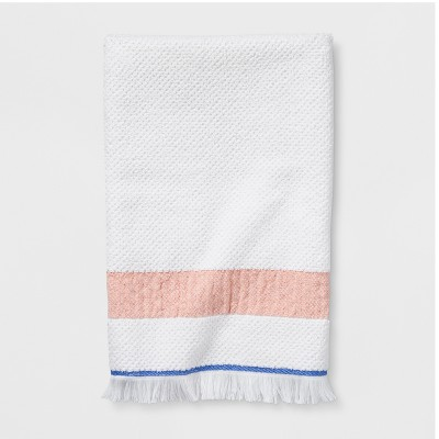 Cream Stripe Bath Towel - Threshold™
