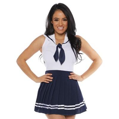 Underwraps Costumes Sailor Skirt Set Adult Costume (Navy)