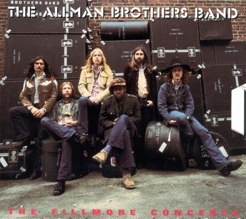 Allman brothers band - Fillmore concerts (CD) - image 1 of 2
