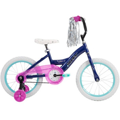 "Huffy 16"" Glitter Kids' Bike - Dark Purple"
