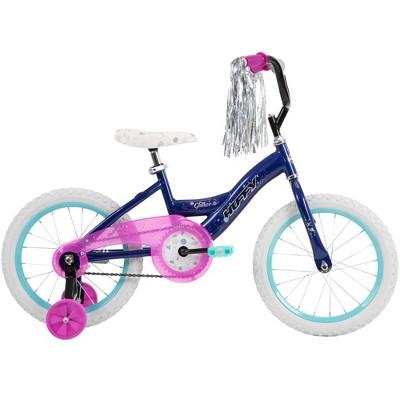 "Huffy 16"" Glitter Kids' Bike - Dark Purple"