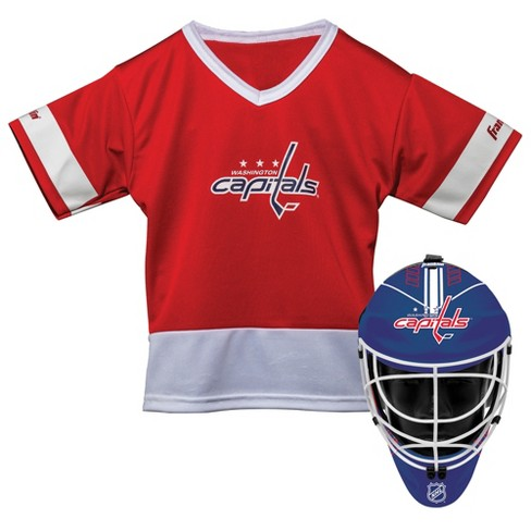 NHL Washington Capitals Franklin Sports Jersey and Helmet Set - image 1 of 1
