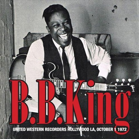 B.B. king - United western recorders hollywood la (CD) - image 1 of 1
