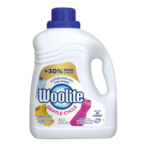 Woolite Gentle Cycle Liquid Laundry Detergent for HE and Regular Machines, Sparkling Falls Scent, 100oz - image 1 of 7