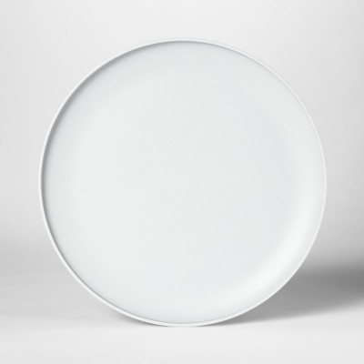 10.5  Plastic Dinner Plate Gray - Room Essentials™