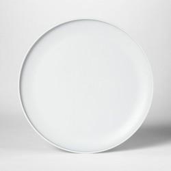 "10.5"" Plastic Dinner Plate Gray - Room Essentials™"