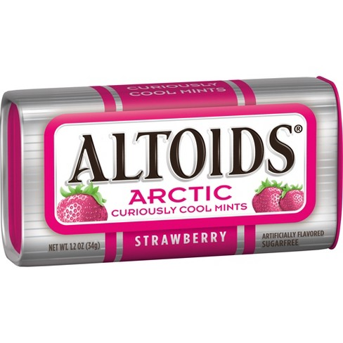 Altoids Arctic Strawberry Mint Candies - 1.2oz - image 1 of 6