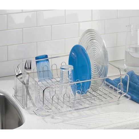 bfa8b48d43a6 InterDesign Forma Lupe Stainless Steel Dish Drainer : Target
