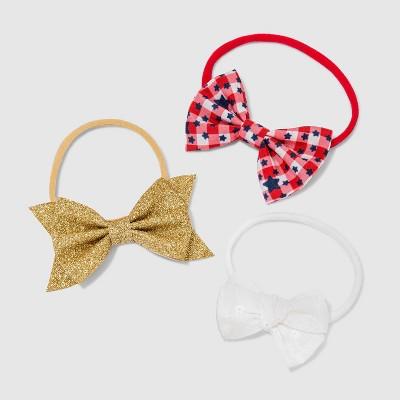 Baby Girls' 3pk Americana Headband - Cat & Jack™