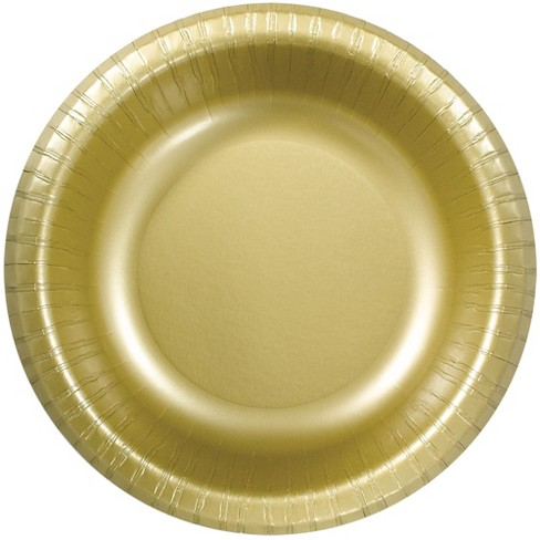 20oz 30ct Disposable Bowl Gold - Spritz™ - image 1 of 1