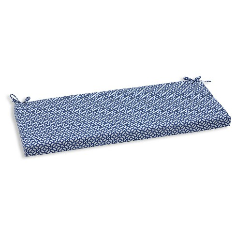 Pillow Perfect In The Frame Sapphire Outdoor Seat Cushion - Blue - image 1 of 1