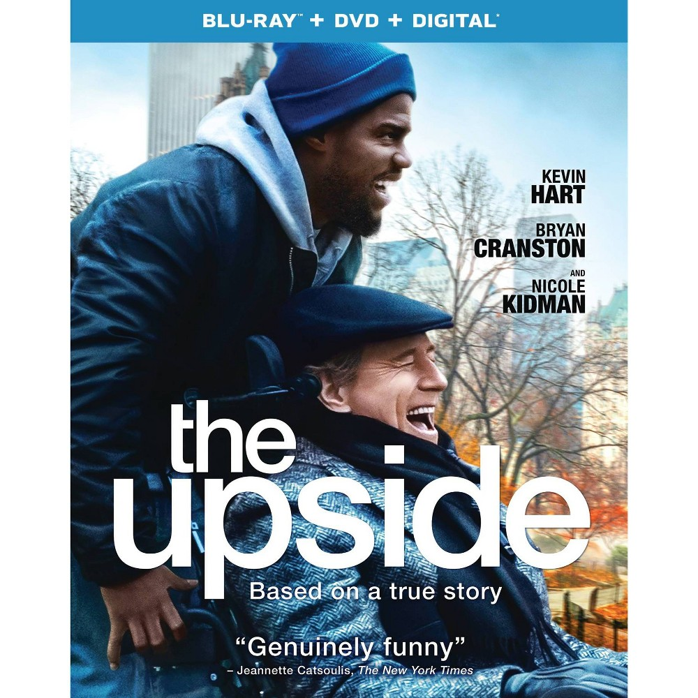 The Upside (Blu-Ray + Dvd + Digital)