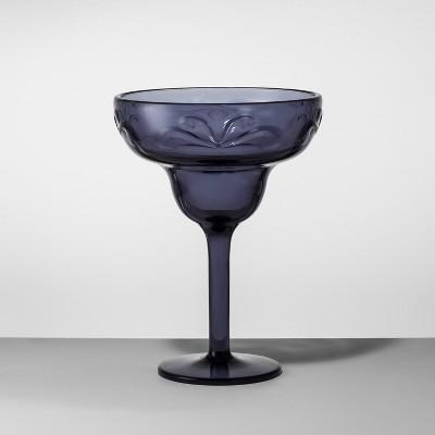 Plastic Margarita Glass 14oz Blue - Opalhouse™