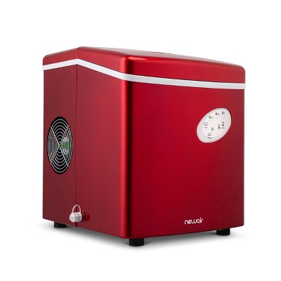 NewAir 28lb Portable Ice Maker - Red AI-100