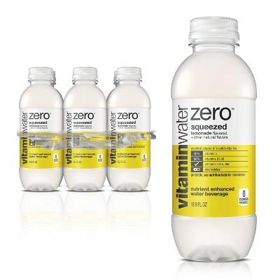 vitaminwater zero squeezed lemonade - 6pk/16.9 fl oz Bottles