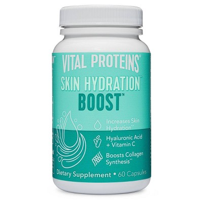 Vital Proteins Skin Hydration Boost Capsules - 60ct