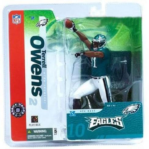 McFarlane Toys NFL Philadelphia Eagles Sports Picks Series 10 Terrell Owens Action Figure [Green Jersey] - image 1 of 1