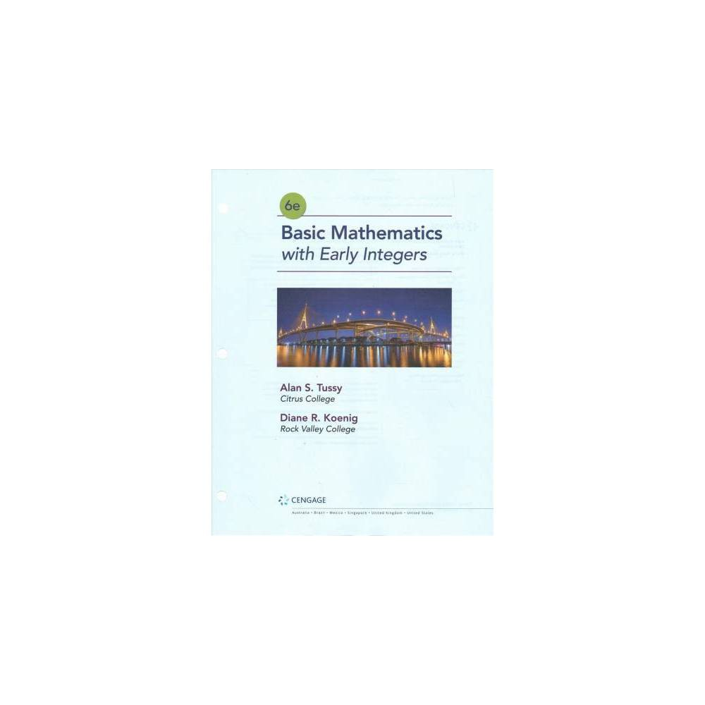 Basic Mathematics for College Students With Early Integers + Mindtap Math Foundations, 1 Term 6 Months