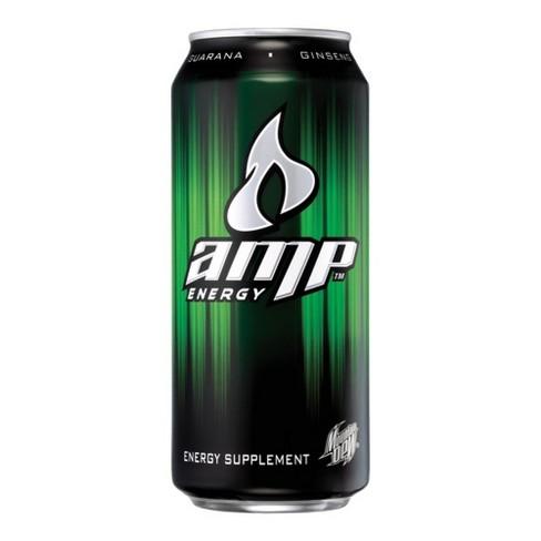 Amp Energy Drink 16 Fl Oz Can Target