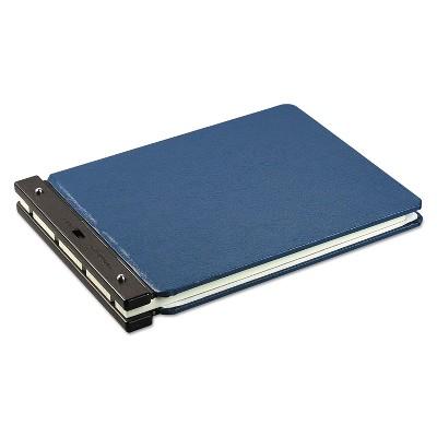 """Wilson Jones Raven Vinyl-Guarded Post Binder 2"""" Cap 11 x 17 Light Blue 22665N"""