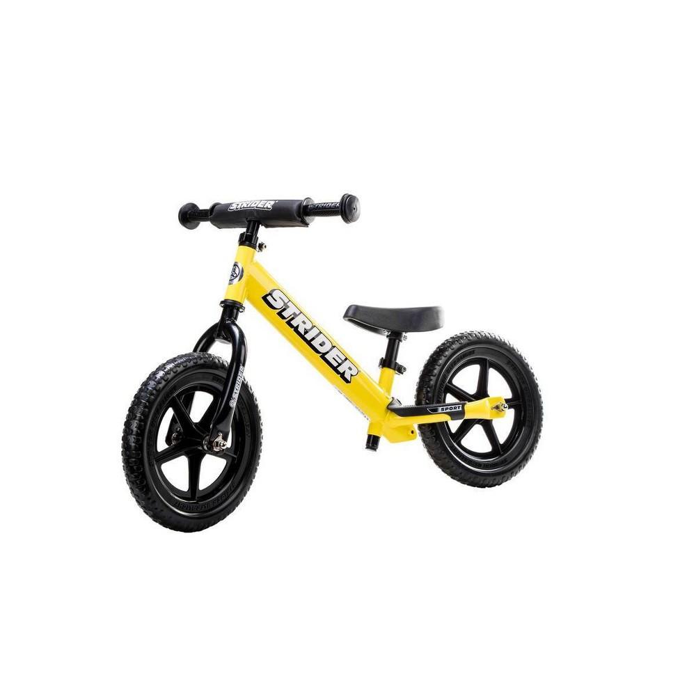 Strider Sport 12 34 Kids 39 Balance Bike Yellow