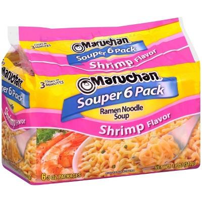 Maruchan Soup Ramen Shrimp Flavor - 18oz