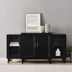 "62"" 4 Door Tiered Modern Sideboard - Saracina Home"