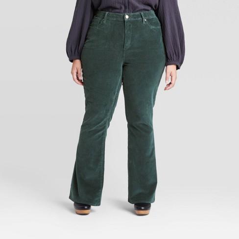 Women's High-Rise Flare Corduroy Pants - Universal Thread™ - image 1 of 3