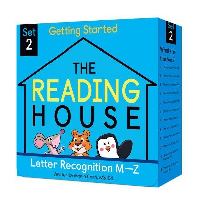 The Reading House Set 2: Letter Recognition M-Z - by Marla Conn (Mixed Media Product)